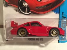 Hot Wheels Porsche 993 GT2 Custom Wheels with Real Riders