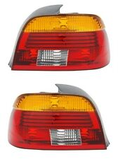 2 FEUX ARRIERE LED ROUGE ORANGE BMW SERIE 5 E39 BERLINE FACELIFT 09/2000-06/2003