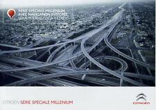 Catalogue prospekt brochure Citroën série spéciale Millenium 2012 FR