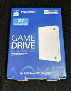 ✅ Seagate Game Drive 2TB External USB 3.0 Hard Drive - PS4, PS5, PlayStation