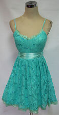 WINDSOR Seafoam /Turquoise Dance Party Dress 11-$85 NWT