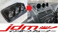 For Toyota Altezza Gauge Pod Console Dashboard Visor Dash Panel 1998-2005 60mm