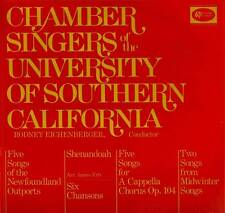 CLASSICAL LP CHAMBER SINGERS UNIVERSITY OF SOUTHERN CALIFORNIA BRAHMS HINDEMITH