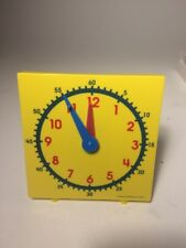 Student Clock For Teaching Time  MAC004 New in Box Great For Classroom