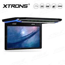 "10.2""LED TFT Car Roof Ceiling Flip Down Overhead Monitor USB HDMI HD 1080P Black"