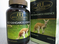 Body & Health Kangaroo Essence 6000mg 100 Capsules