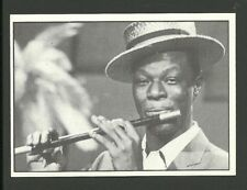 Nat King Cole Scarce 1987 TV Sticker from Italy