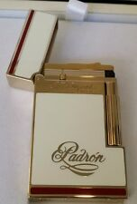 ST DUPONT PADRON LIMITED EDITION GOLD W WHITE LACQUER LINGE LINE 2 LIGHTER 50TH