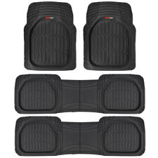Motor Trend® FlexTough Deep Dish Heavy Duty Rubber Car Floor Mats 4 PC SET⭐⭐⭐⭐⭐