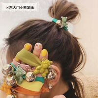 Women Girls Bear Hair Ring Ties Band Hairband Elastic Head Rope Ponytail Holder