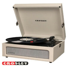 NEW Crosley CR8017A-DU 3 Speed Voyager Portable Record Player Turntable - Dune