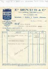Dépt 22 & Paris XVIII ème - St Brieuc 9 Rue Bélorient - Savonnerie du 22/06/1942