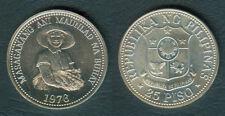 1976 MASAGANANG ANI MAUNLAD NA BUHAY 25 Piso FAO Philippine Coin