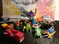 Transformers and toy lot for parts