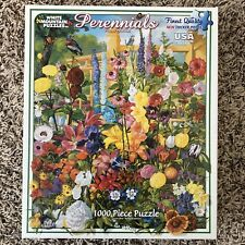 White Mountain Puzzles 368S, Learn About Perennials, 1000 Piece Jigsaw