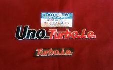 FIAT #UNO #TURBO.ie #TARGHETTE anteriore + posteriore