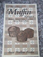 1993 Old Fashioned Muffin Recipes Cookbook Booklet
