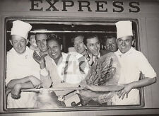 JOSEPHINE BAKER Jo BOUILLON Train LA FLECHE D'OR Cuisine Gare du Nord Photo 40s