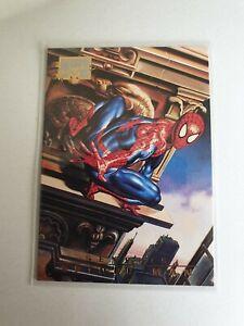1996 Marvel Masterpieces Base #85 Spider-Man NM