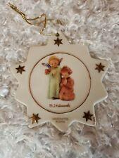 Beautiful Handcrafted M. J. Hummel Porcelain Christmas Star Angels Ornaments