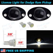 License Plate Light Lens w/White LED Bulb for Dodge Ram 1500 2500 3500 1994-2002
