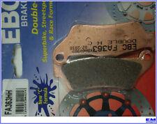 PASTIGLIE PASTICCHE FRENO MOTO EBC BMW F 800 R 1100 1150 1200 K1300 1600 FA363HH