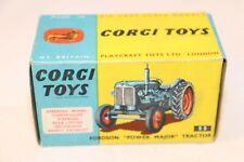 "Corgi Toys 55 Fordson ""Power Major"" tractor original excellent plus empty box"