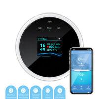 Portable Digtal WiFi Alarm Sensor Natural Gas Leak Detector Gas Detection Alarms