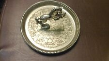 Vintage SEBA Silver Plated Dancing/Prancing Horse Trinket Dish & 1 c:1960's