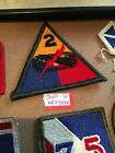 Authentic US Army 2nd Armored Patch