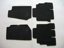 10 11 12 13 JEEP WRANGLER 4 DOOR BLACK CARPET FLOOR MATS OEM FACTORY GENUINE #4