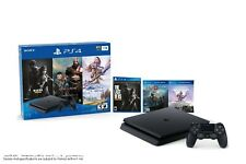 Sony PlayStation 4 1TB The Last of Us: Remastered, God of War & Horizon Zero Dawn: Complete Edition Console Bundle - Jet Black