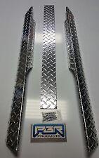 EZGO Golf Cart Part Diamond Plate Rocker Panel covers & Kick 1994-2012 TXT