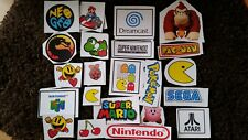 Gaming Stickers - Retro Video Game Sticker Set + others available Avengers, R6