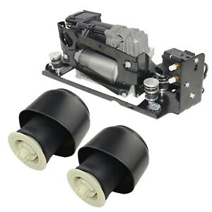 Kompressor+2*Luftfederung Hinten für BMW 5er F07 F10 F11 F18 520i 535i 550i