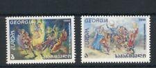 Georgia #199-200 (1998 Europa folk traditions set) VFMNH CV $3.70