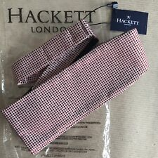 BNWT HACKETT Micro Textured Bow Tie - Red