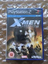 NEW FACTORY SEALED X-MEN LEGENDS II RISE OF THE APOCALYPSE FOR PLAYSTATION 2 PS2