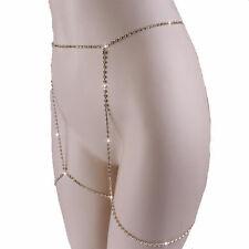 Delux Jewelry Thigh Leg Crystal Chain Harness Body Garter 1PC Enjoy Summer