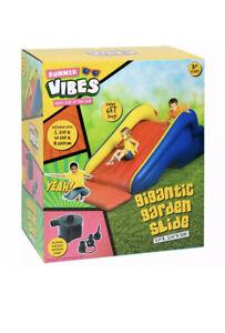 Summer Vibes Kids Children Gigantic Inflatable Garden Slide Outdoor Garden ☀️