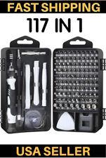 Electronics Repair Tool Kit Precision Screwdriver Set Magnetic Repair Set 117PC