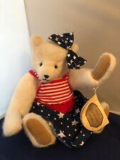 "Artist Bear By Catherine Bordi ""The Chocolate Bear�"