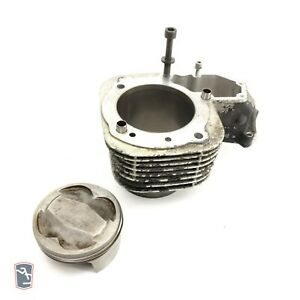 Bmw R1100S Left Engine Cylinder 11117667103 Set With Piston Rings Pin 2002 -A433