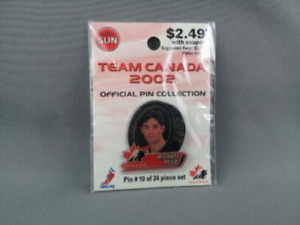 Limited Edition Team Canada Hockey Pin - Mike Pecca - From 2002 Olympics