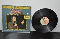 """CHARLES AZNAVOUR 16 GOUDEN SUCCESSEN(16 Golden Hits)LP French Import 12"""" Barclay"""