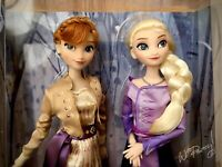 2019 LIMITED RELEASE Anna & Elsa Frozen 2 Doll Set NIB Sold Out