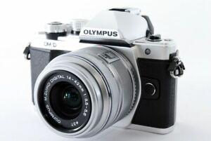 Olympus E-M10 Mark II 17.2MP 14-42mm Set Silver [Exc w/Box,8GB SD Card [659