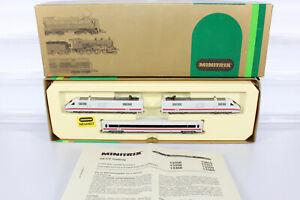 Minitris N 12855 ICE Triebzug BR 401 509-5 der DB 3-tlg. in OVP (M100a)