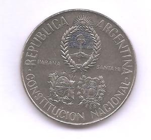 ARGENTINA 1994  5 PESOS  CONVENCION NACIONAL CONSTITUYENTE