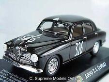 '51 1900 ensayos Alfa Romeo 1/43rd Tamaño coche Modelo Rally Carrera Tipo N ° 326 y0675j ^ * ^